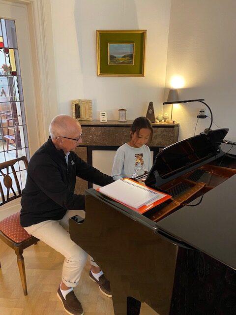 Pianoles sjef Doeve