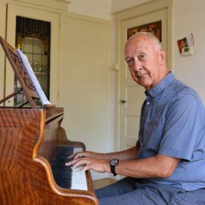 Sjef Doeve - pianoleraar in Heemstede